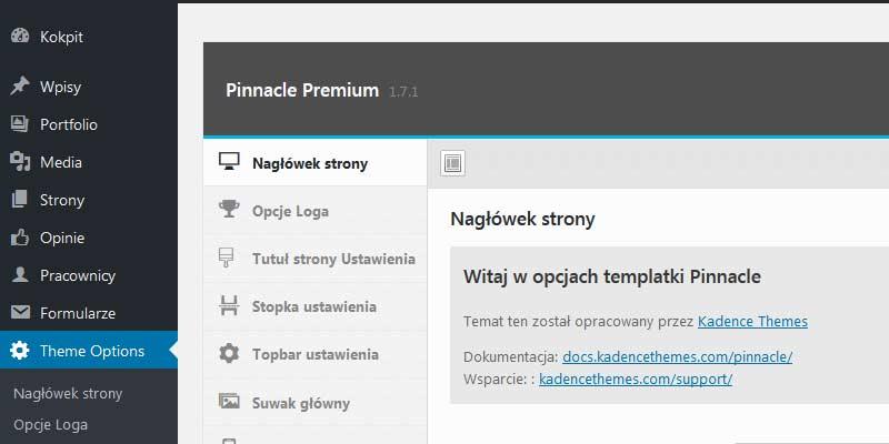 Tworzenie stron internetowych opartych o system zarządzania treśćią CMS Wordpress lub Drupal