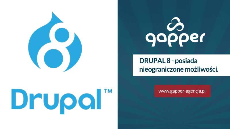Drupal 8 to ogrom nieograniczonych możliwości