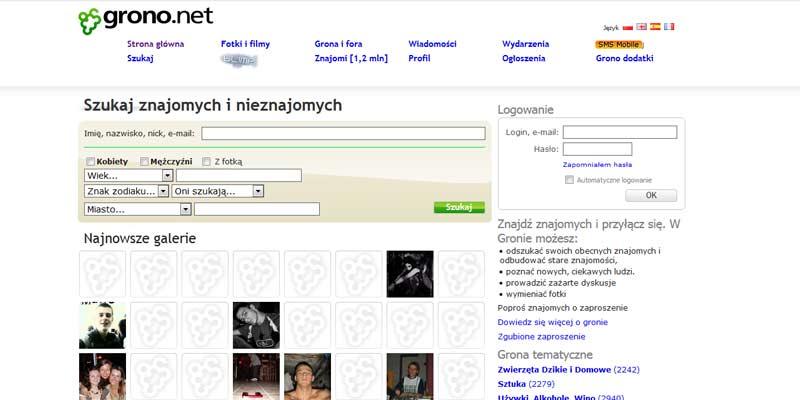 Grono net - polski serwis web 2.0 - społecznościowy