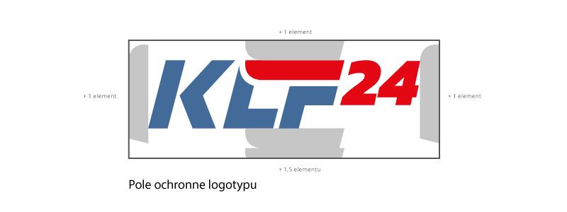 Księga znaków - pole ochronne logotypu