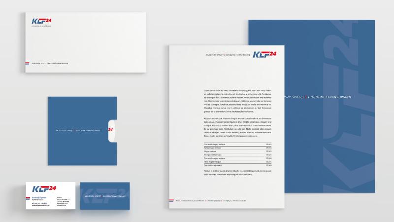 Księga znaków - wizytówka, logo, papier