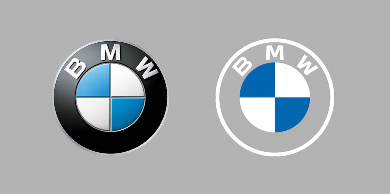 Logo BMW stare i nowe