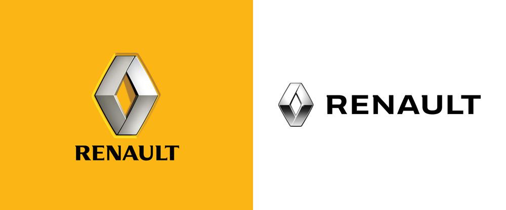 Renault nowe logo