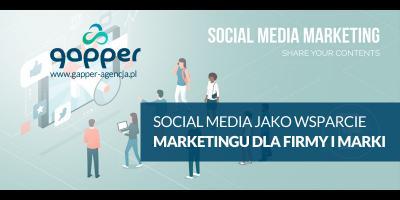 Social media marketing jako wsparcie działań reklamowych dla firm i marek