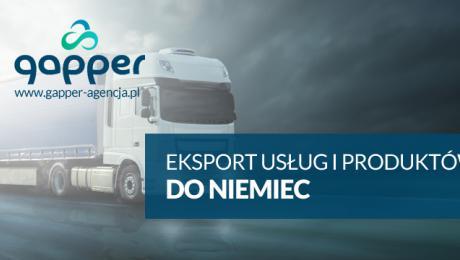 Eksport usług i produktów do Niemiec