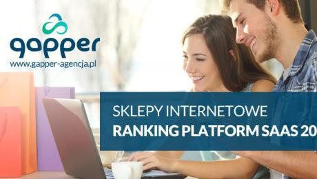 Sklepy ecommerce SaaS ranking platform
