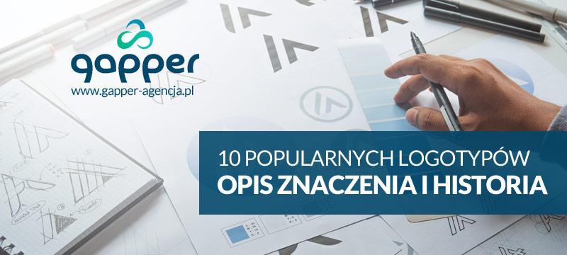 Najbardziej popularne logotypy (loga) marek i firm