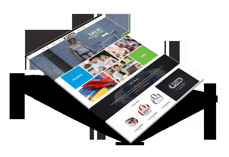 Gapper portfolio - rozbudowane serwisy internetowe